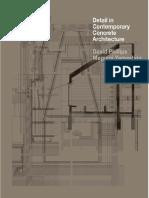 Detail in Contemporary Concrete Architecture