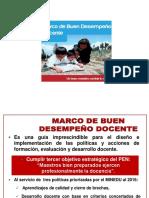 Diapositivas Marco de Buen Desempeño Docente