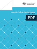 australian national diabetes strategy 2016-2020-2