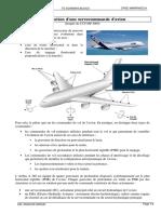 TD Schema Blocs Servocommande Avion
