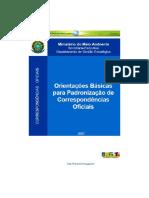 Mma - Manual Corresondência Oficial