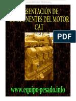 Curso Componentes Motores Maquinaria Pesada Elementos Bloque Culata Proceso Cilindros Camisas Pistones Anillos Cat