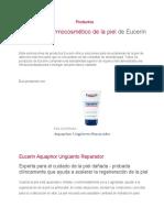 Productos EURECIN
