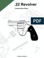 DIY 22 Revolver Plans Professor Parabellum