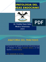 1.- Fisiopatologia Del Pancreas Endocrino 2015