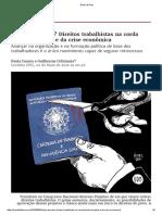 Brasil de Fato - Digital - 02.05.2016 - Tchau, queridos. Direitos trabalhistas na corda....pdf