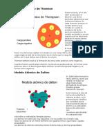 Cientificos y sus modelos atómicos (TXT + IMG)