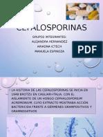 Cefalosporinas Final