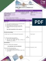Lesson Plan Format 3