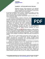 Blocos de Coroamento - Estacas Metálicas (Trilhos)