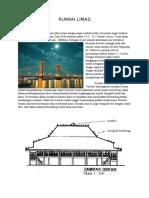 Studi Rumah Limas Di Kota Palembang