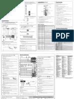 Yamaha MG10XU Manual
