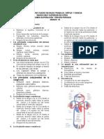 Examen Sistema Circulatorio SUPERACION 10