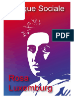 Rosa Luxemburg, Brochure Critique Sociale
