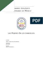 Las Mujeres en Los Evangelios.