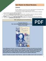 book report rubric 533 sp11