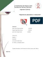 Reporte Lab Organica 1 Extraccion