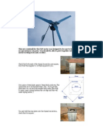 Step by Step DIY Windmill Plans