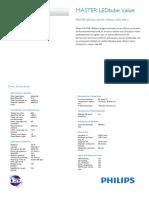 Philips MASTER LEDtube Value
