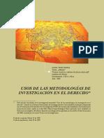 usos de las metodologìas de investigación en el derecho.pdf