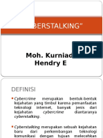 Cyber Stalking