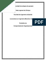 Portafolio de Comportamiento Organizacional