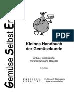 Handbuch Der Gemüsekunde