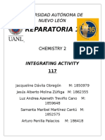 Integrating Act. Chemistry S1