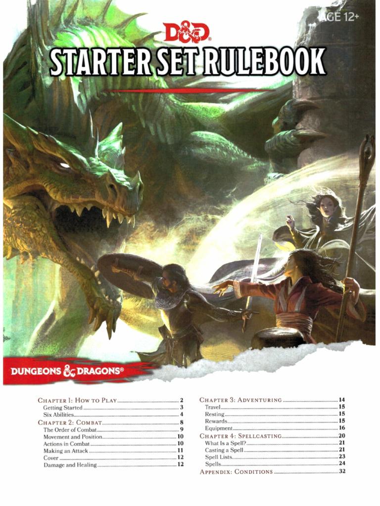 D&D 5e - Starter Set Rulebook pdf | Dungeons & Dragons