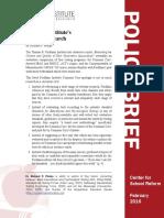 Fordham Institute's Pretend Research