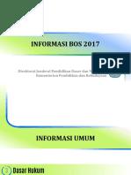 Informasi Lengkap Dana BOS 2017