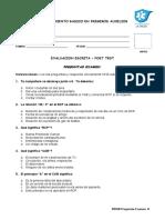 PRIIN Examination Questions. Español