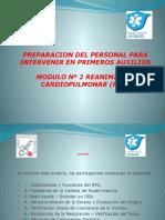 Modulo Nº 2 RCP Reanimacion CardioPulmonar