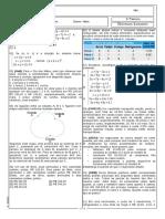 Sistemas Lineares  -Lista 1