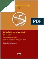 La Política de Seguridad en México