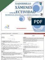 Cuadernillo Selectividad Matematicas