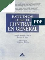 382 Estudios Sobre El Contrato en General