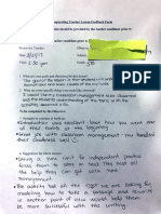 ss and literacy teacher feedback imb