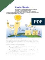 Causas Del Cambio Climático