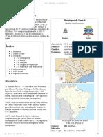 Pontal – Wikipédia, A Enciclopédia Livre