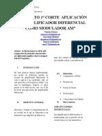 AMPLIFICADOR-DIFERENCIAL con modulador AM