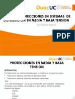 Tipos de Protecciones en Sistemas de Distribucion en Media y Baja Tension