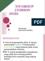Pertemuan 6 PK Adila (FGD)