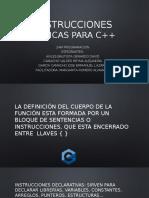 Instrucciones Basicas Para c