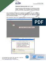 5.- Manejo de Estacion Total Topcon Conversion de Archivos DTM