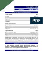 23 Volkkswaen Bora Olf 2000