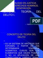 1.- Teoría Del Delito Alumnos EJPYDH 2017