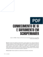 Artigo1_Joel N 03 a 14 - CONHECIMENTO DE SI E SOFRIMENTO EM SCHOPENHAUER