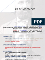 Introduction to Kinematics of Machines