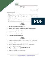 2017 SP 12 Mathematics 12 Ques